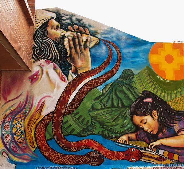 NAYRA Artista Visual freelance en Bogotá   MURALISMO