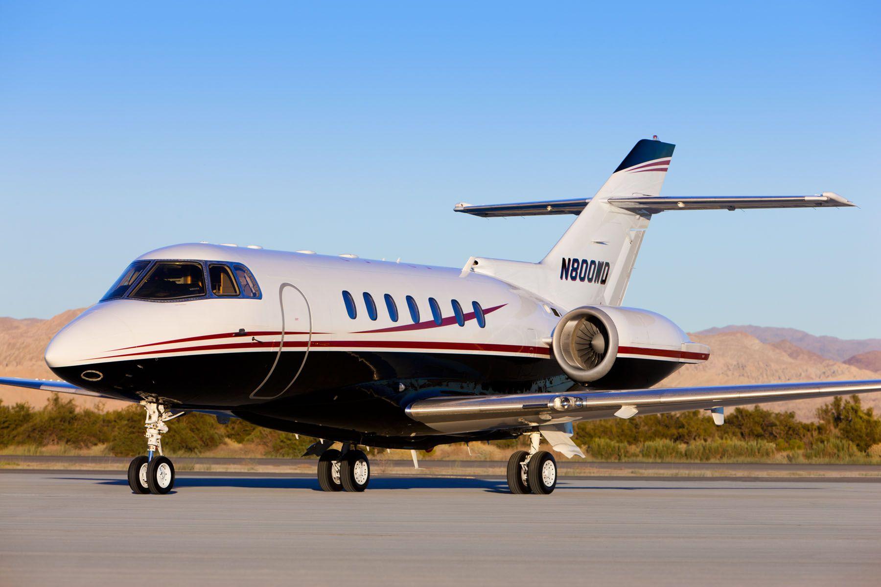 Hawker 1000 Private Jet Plane Jet Hawker