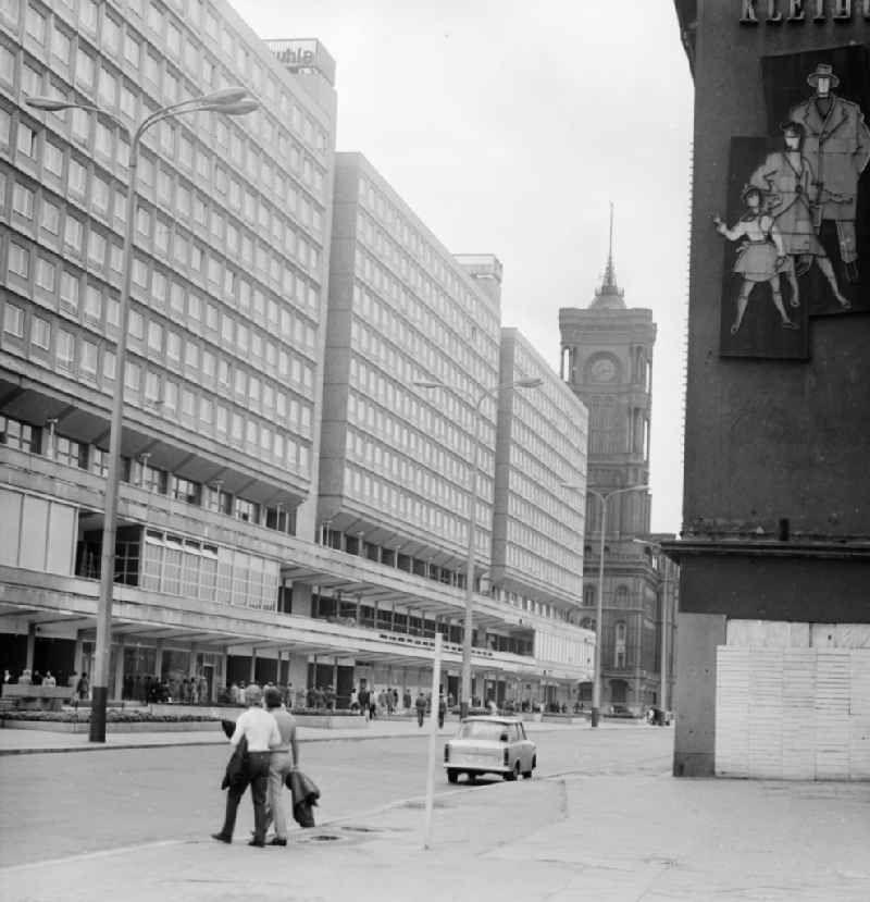 Rathauspassagen in Berlin, der ehemaligen Hauptstadt der