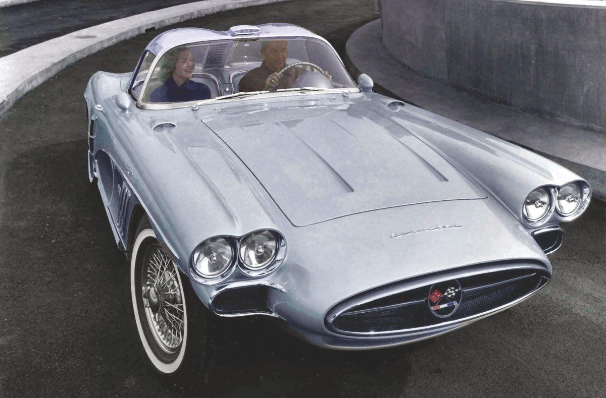 1958 Chevrolet Corvette Xp700 Corvette Classic Cars Concept Cars