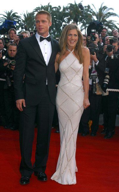 The Most Memorable Cannes Dresses Jennifer Aniston Wedding Dress Jennifer Aniston Wedding Jennifer Aniston Style