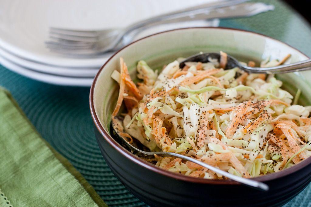 Savoury Low Carb Slaw - Mia's Daily Dish Savoury Low Carb Slaw - Mia's Daily Dish Keto Coleslaw keto daily coleslaw