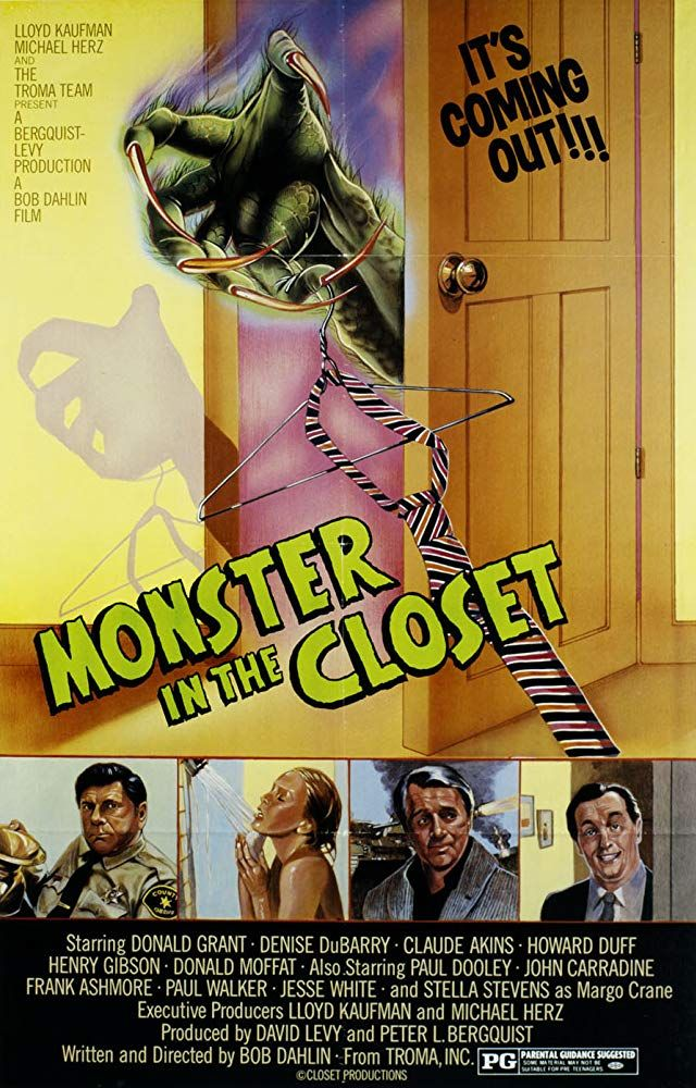 Monster in the Closet (1986) Horror 1980s horror movies