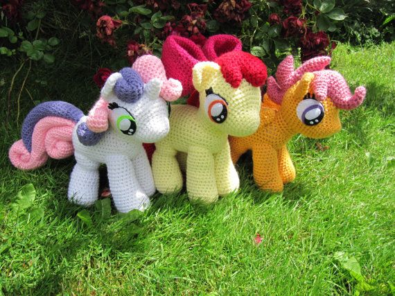 Cutie Mark Crusaders Pattern - My Little Pony | Cruzado, Ventas y ...