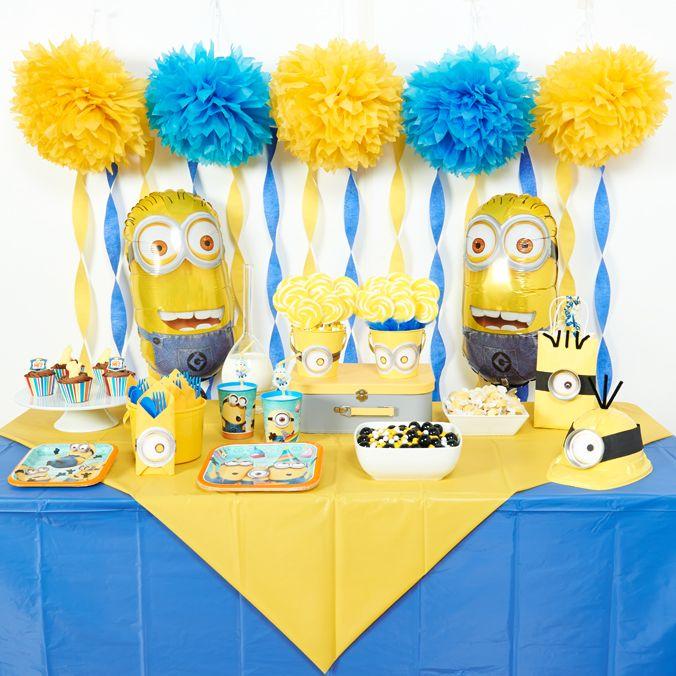 DIY Minions Party Ideas MinionsDespicable