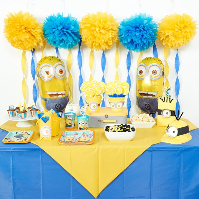 Diy Minions Party Ideas Minion Party Decorations Minion Party Minion Birthday Party