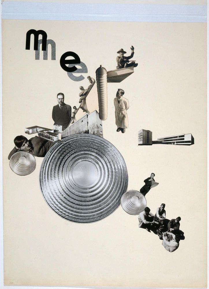 Marianne Brandt Photomontage 1928 Me Metal Workshop