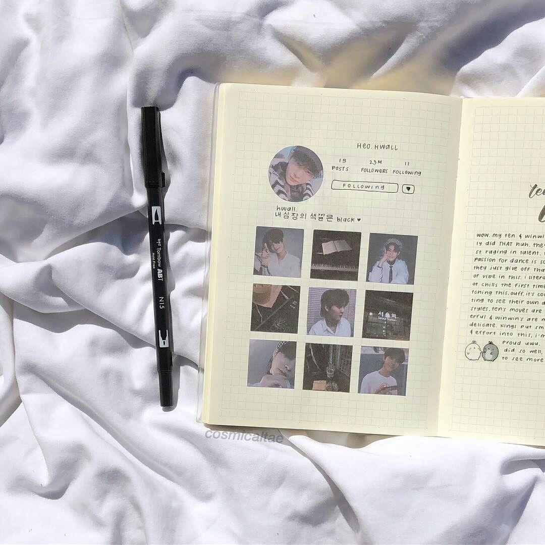 Pin De Celina Edis En Kpop Journals Libreta De Apuntes Alfabeto