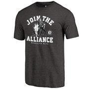 #NBAStore.com - #NBAStore.com Men's Brooklyn Nets Fanatics Branded Black Star Wars Alliance Tri-Blend T-Shirt - AdoreWe.com