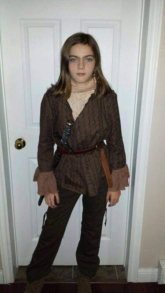 Game of Thrones Arya Stark Cosplay Costume Adult Women/'s costume