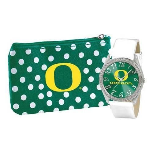 Women's Game Time Watch & Coin Purse Series Ncaa University of Oregon