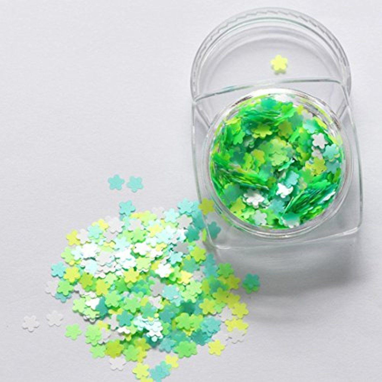 DZT1968 7g/1box Mixed Thin Nail Art Glitter Paillette UV gel system ...