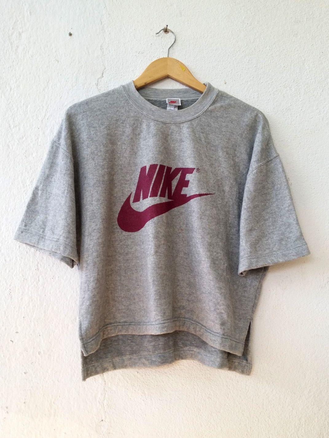 new style 17a81 38222 Vintage 90 s NIKE Sweatshirt with Big Logo Spell Out Printed Sweater Jumper  Pullover Swag Hip Hop Streetwear Adult Oversize L VSS111 by fiestorevintage  on ...