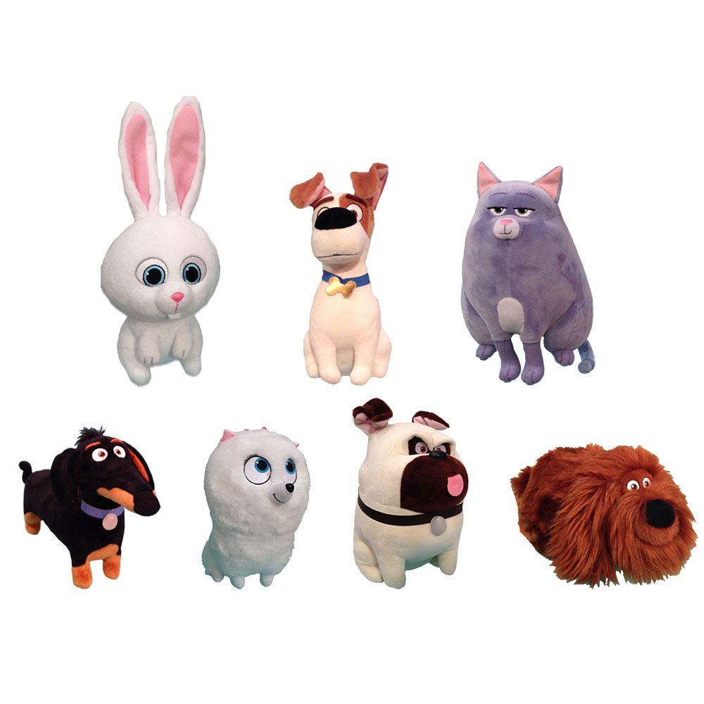 Ty Beanie Babies Set Of 7 Secret Life Of Pets Pets Movie Secret Life Of Pets Beanie Buddies