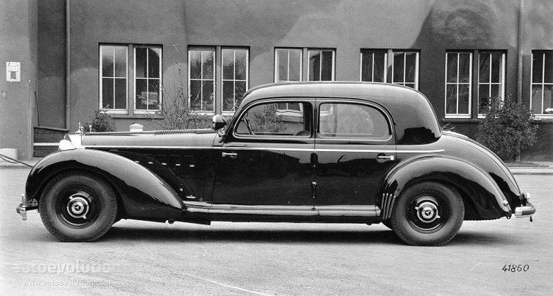 Mercedes Derniers Modèles >> Mercedes Benz Grosser Pullman W150 6