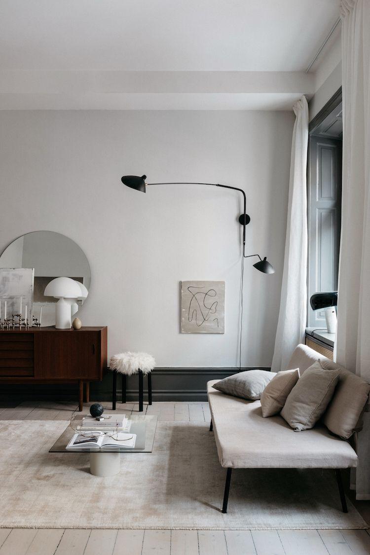 The fabulous stockholm home van lovisa hager also minimalistic living room nutrition stripped rh pinterest