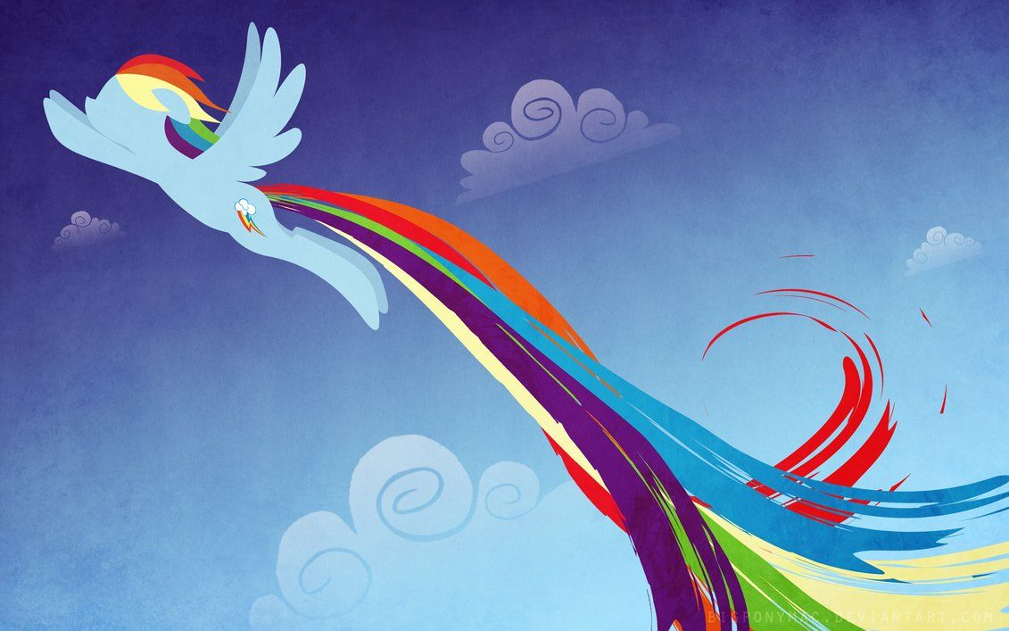 Rainbow Dash Wallpaper By Bigponymac On Deviantart Rainbow Dash
