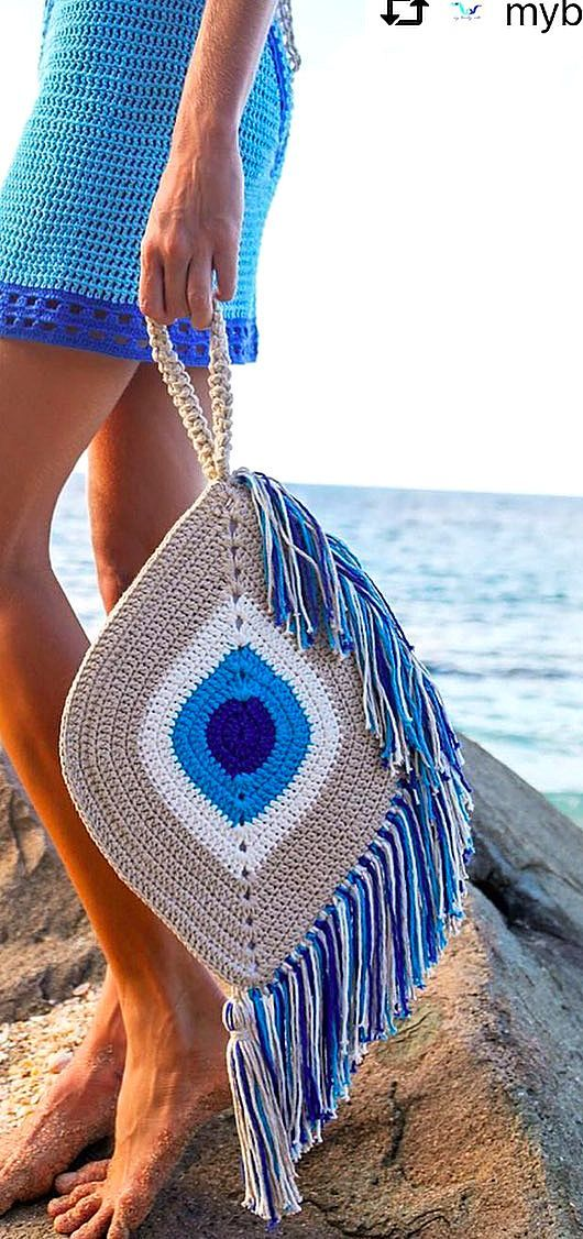 Are you interested in crochet bag models? Then you're at the right place. On our Pinterest page you