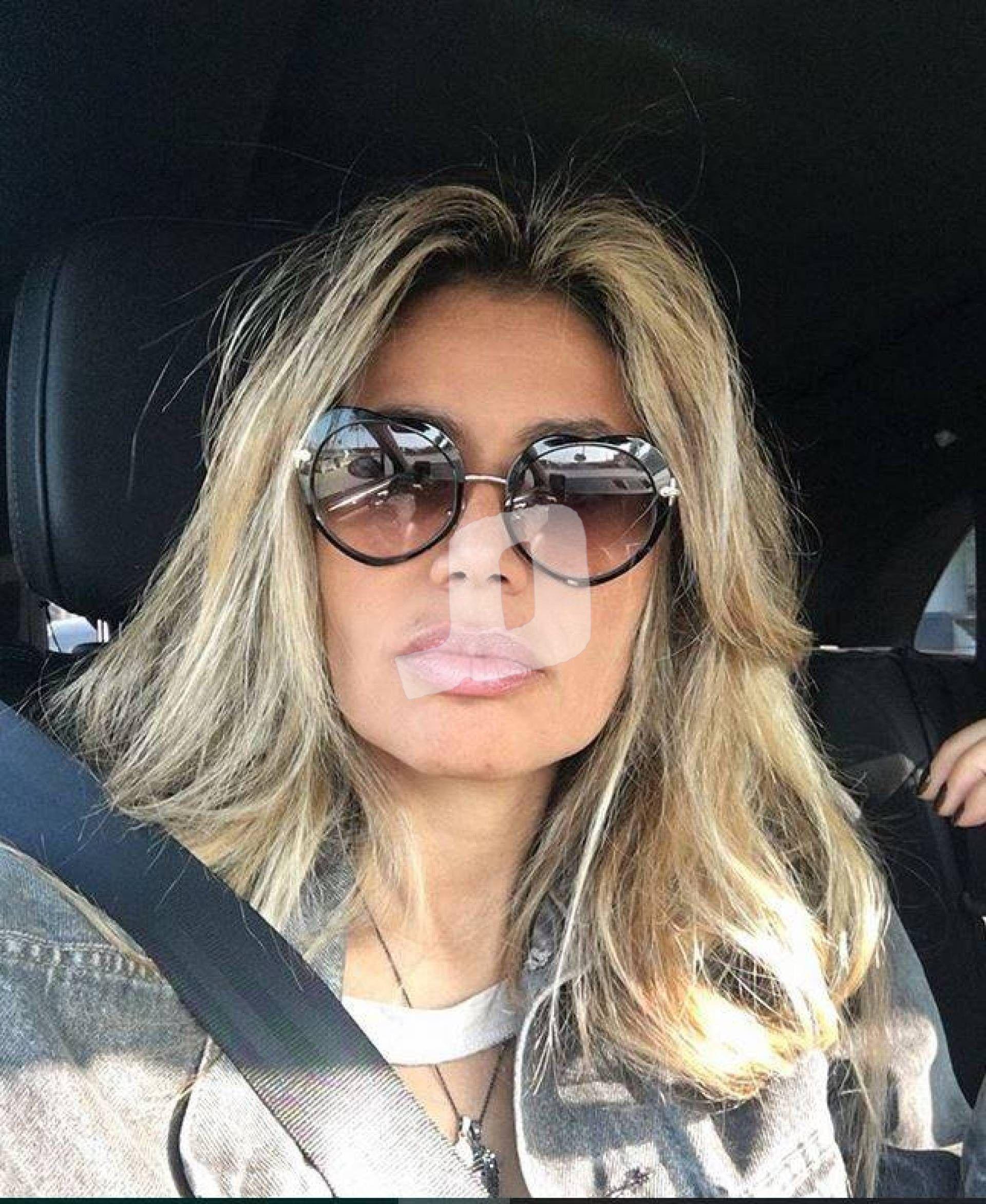 طليقة عمرو دياب تثير التساؤلات حول علاقة عاطفية جديدة Oval Sunglass Fashion Sunglasses