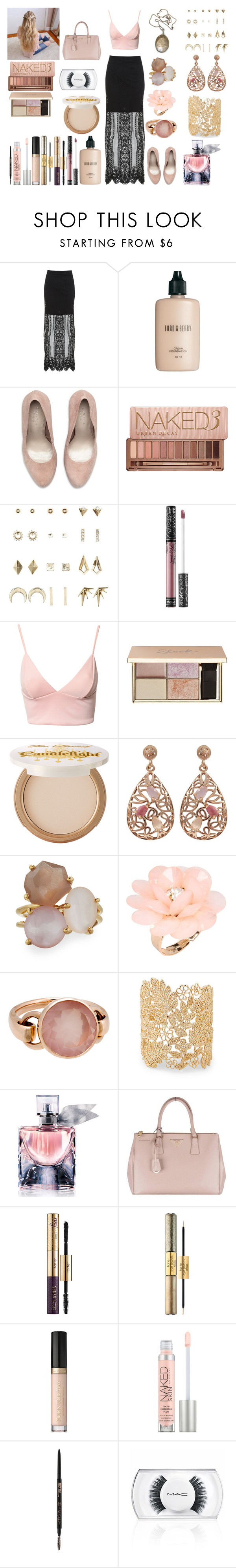 """Untitled #691"" by asiebenthaler ❤ liked on Polyvore featuring Miss Selfridge, Lord & Berry, Carvela Kurt Geiger, Urban Decay, Charlotte Russe, Vintage Collection, Kat Von D, Dark Pink, Luxiro and Ippolita"