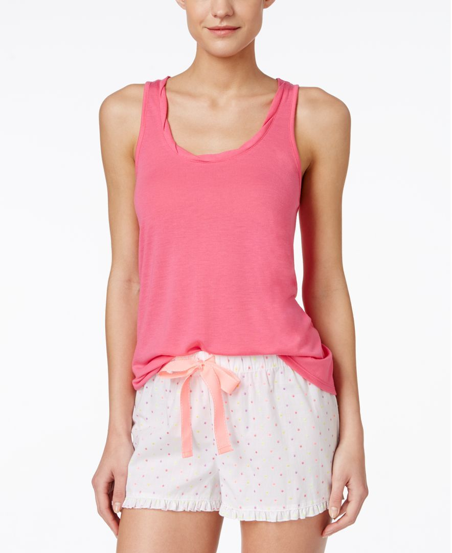 Jenni by Jennifer Moore Flyaway Knit Tank, Only at Macy's