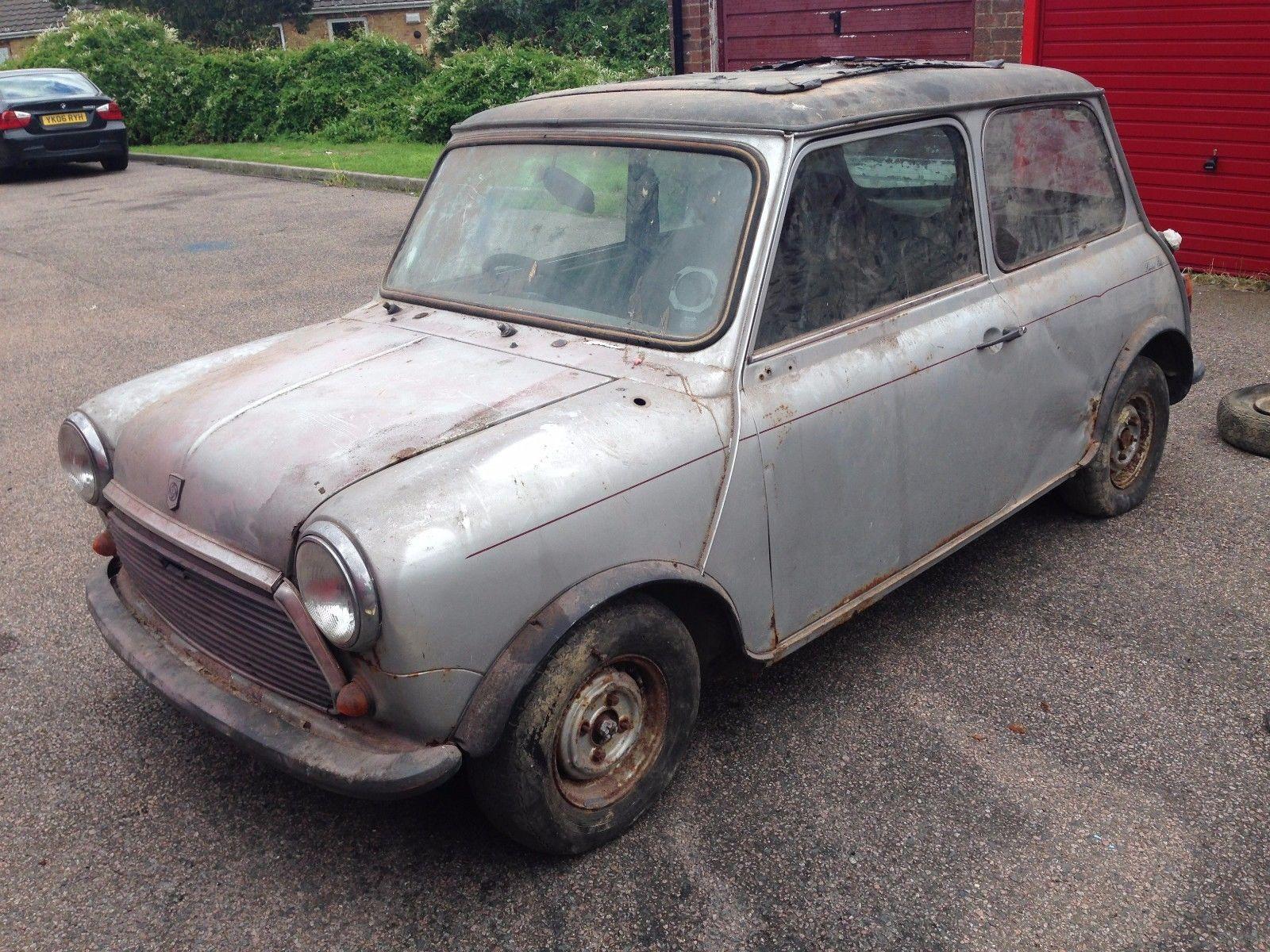 eBay: CLASSIC AUSTIN MINI 25 LE 998cc RESTORATION PROJECT OR FOR ...
