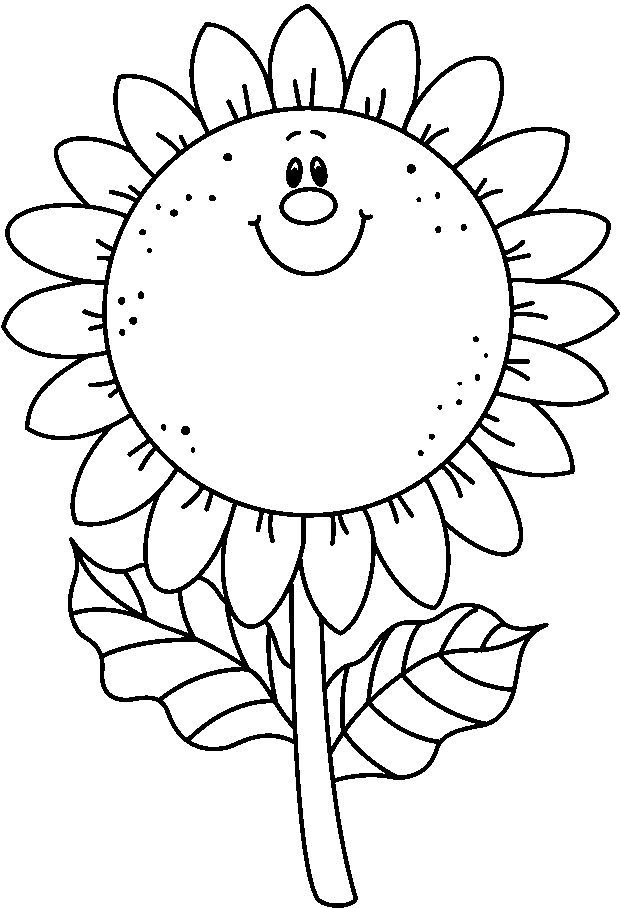 dibujos para colorear: Las flores | Imprimibles | Pinterest ...