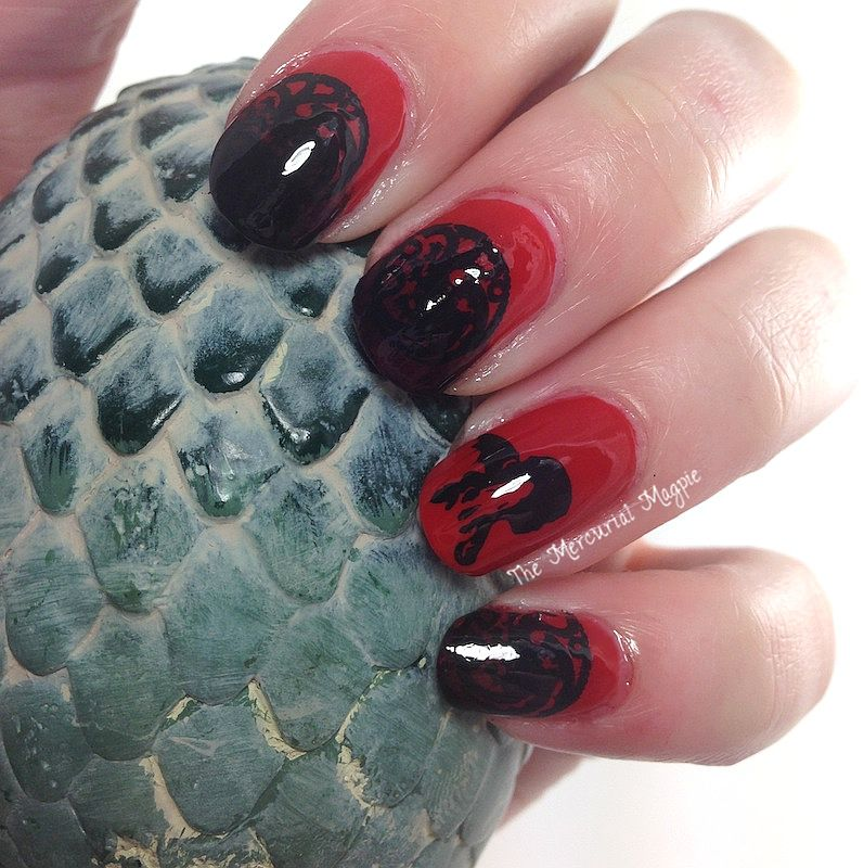 daenerys targaryen game of thrones nails | Nails + Nail Art by Hobby ...