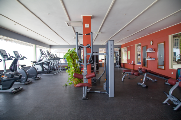 A Range Of Fitness Equipment Can Be Found In The Fitness Room At Club Med Kani Staying Fit On Holiday Has Never Been So Easy With Cardio And Weights Machines