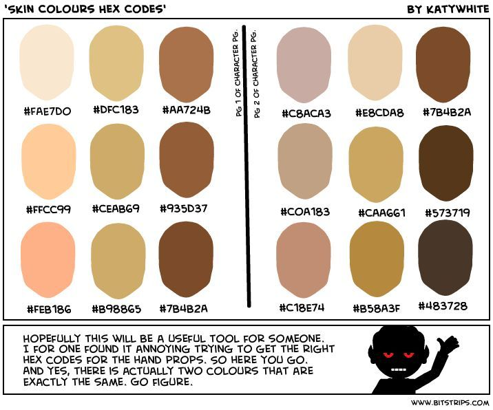 B91e9d2b7775e5b94fdd940e581a730b Colour Hex Codes Human Skin Color Jpg 716 596 Human Skin Color Skin Color Palette Hex Color Codes