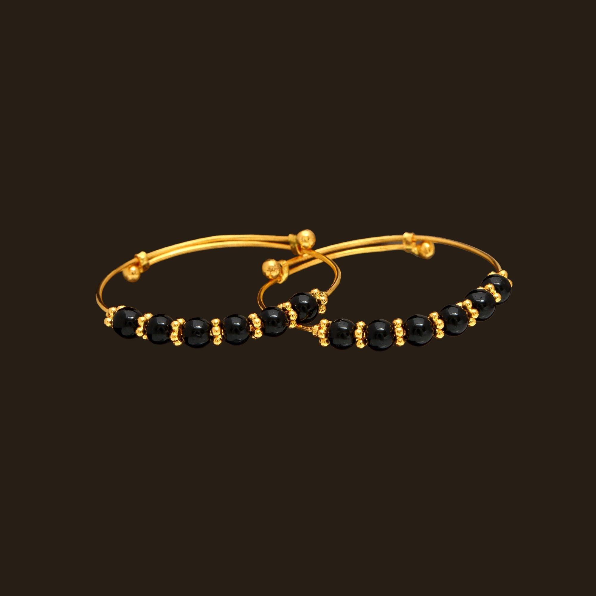 Gold baby bangles a vummidi bangaru jewellers bangles