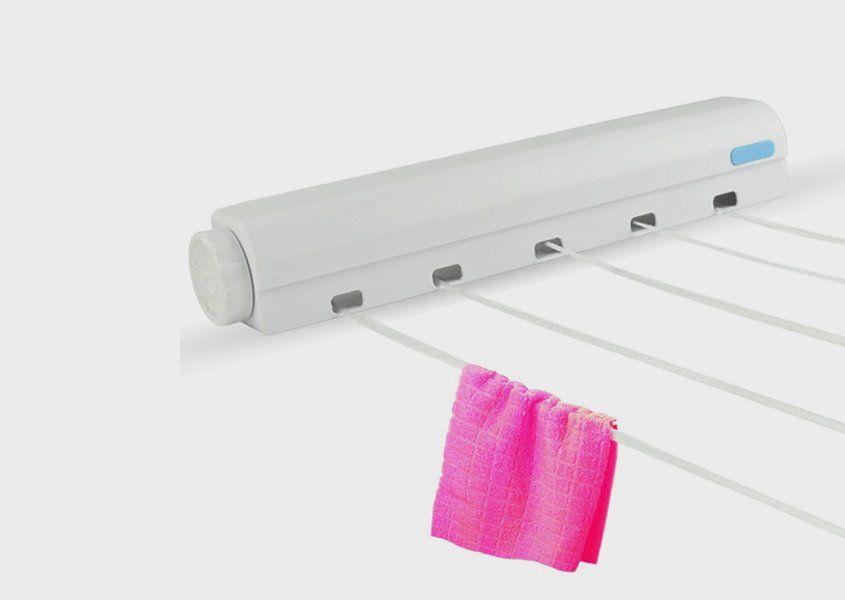 منشر الغسيل القابل للطي 2 في 1 حامل شماعة ومنشر Electronic Products Stuff To Buy Power Strip