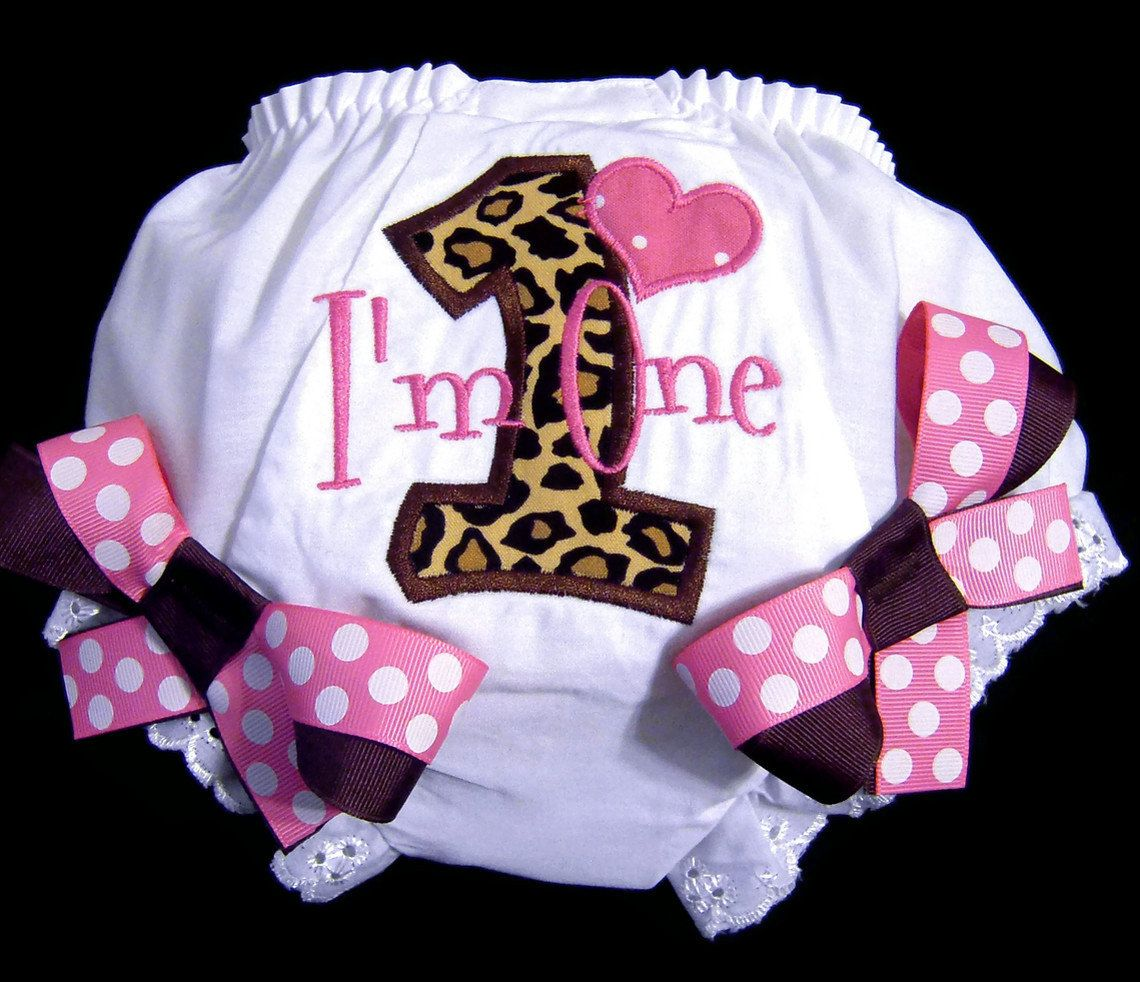 First Birthday Shirt Pink And Brown Leopard Print Outfit Im One Number 3150 Via Etsy
