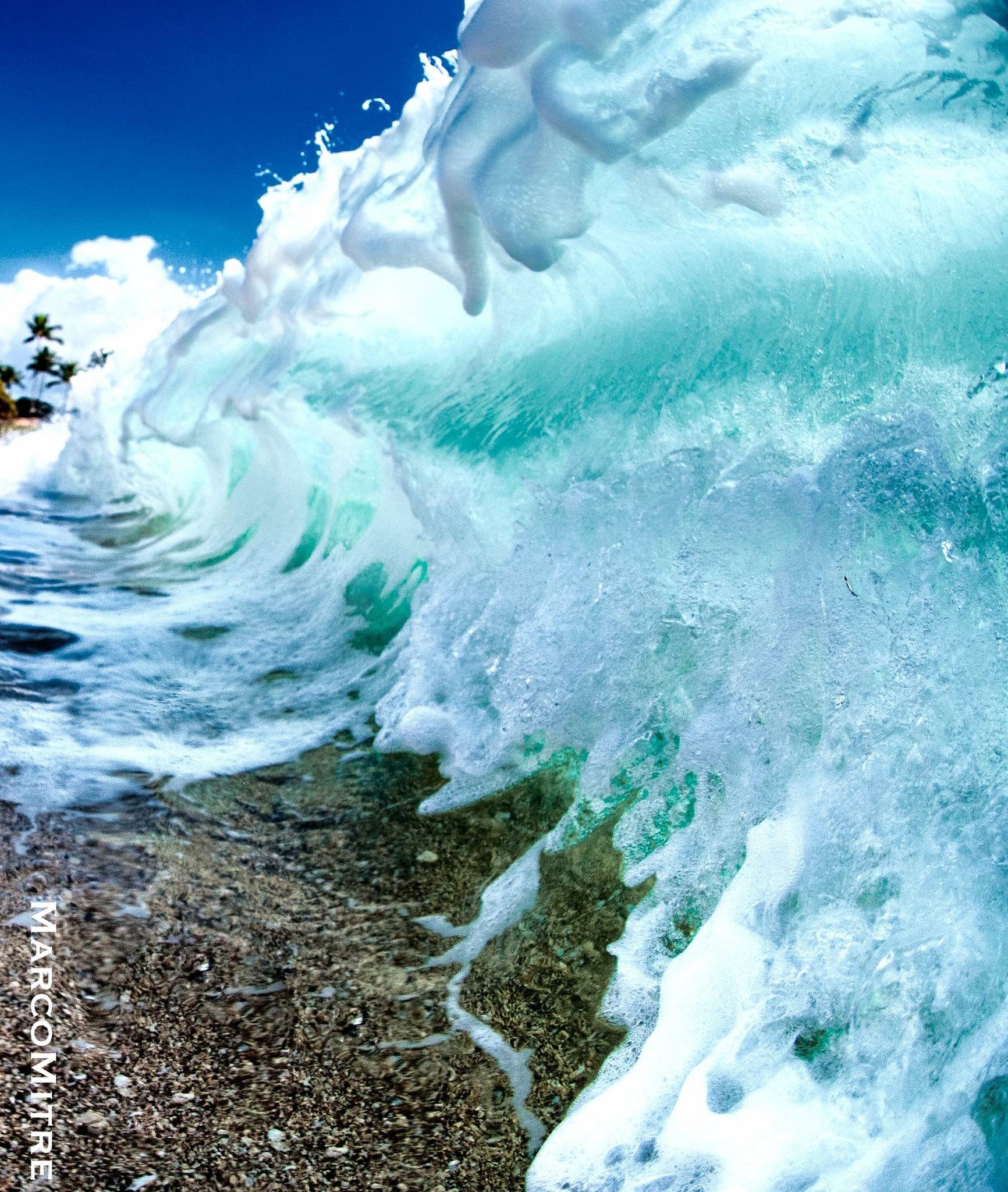 Fresh & minty wave - Marco Mitre | Ocean | Pinterest
