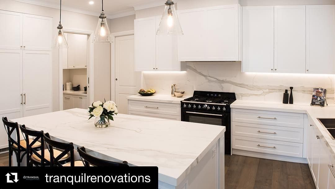 Perfection Repost Tranquilrenovations Get Repost Hamptons Style Kitchen At Our Recently Com Kitchen Styling Kitchen Projects Integrated Appliances