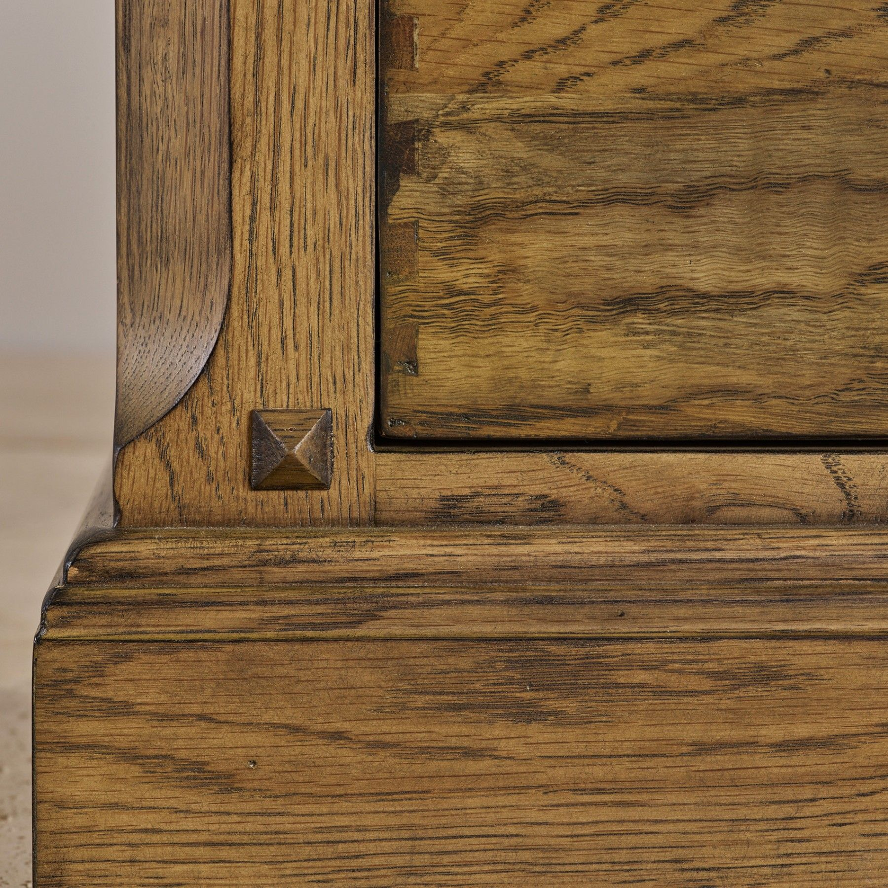 Manor House Vintage Solid Oak Chest