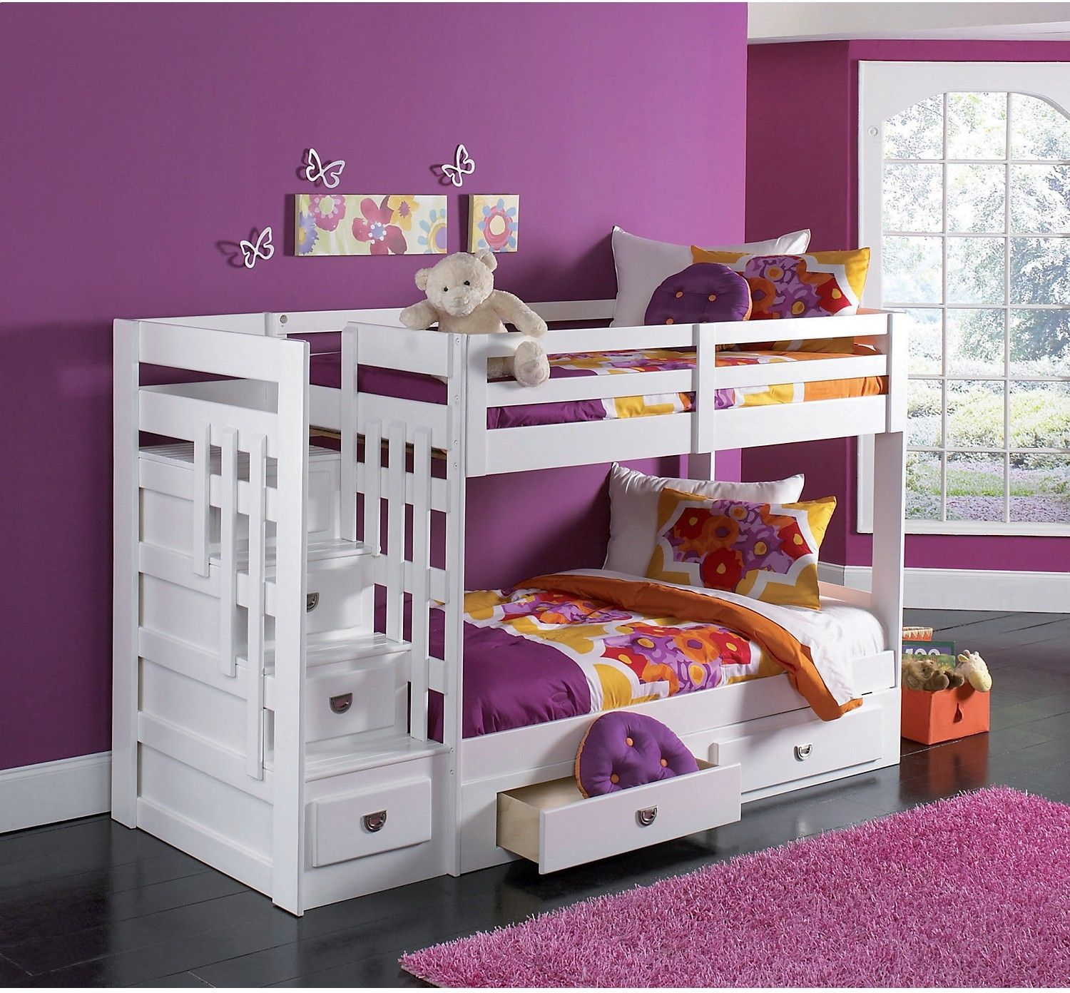 kids furniture malibu staircase bunk bed