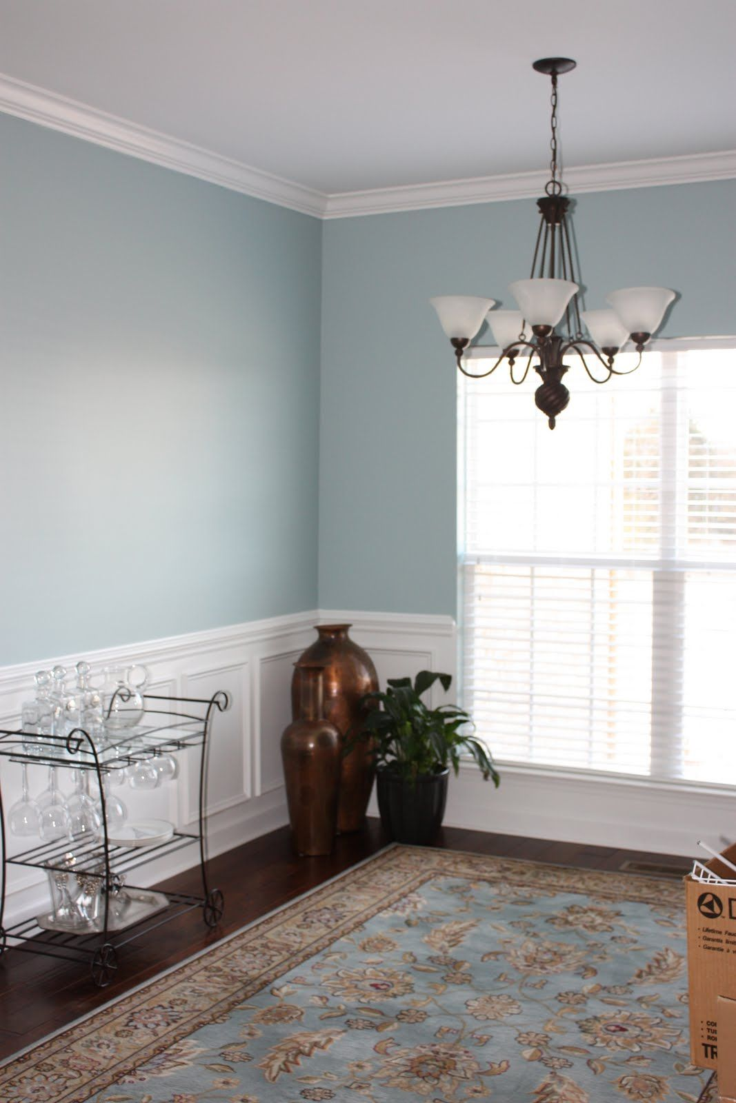 Wedgewood Grey By Ben Moore Dining Room Colors Living