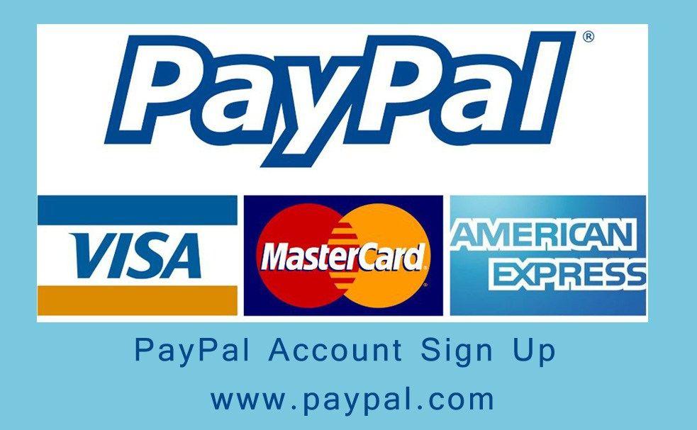 PayPal Account Sign Up Signup, Paypal, Accounting