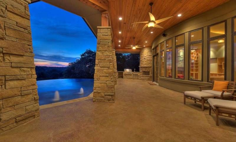 custom home in belvedere, bee cave   Design Visions ...