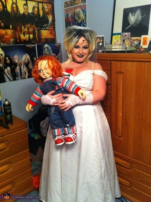 Tiffany bride of chucky halloween costume contest at costume works tiffany bride of chucky halloween costume contest at costume works homemade halloween costumeshalloween costume contestdiy solutioingenieria Images