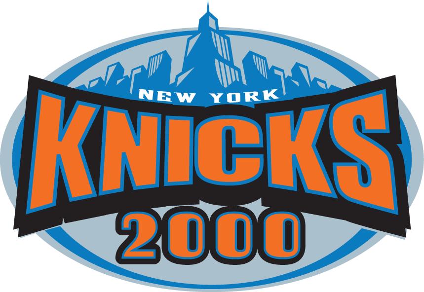 New York Knicks 1999 00 Special Event Logo New York Knicks Event Logo Knicks