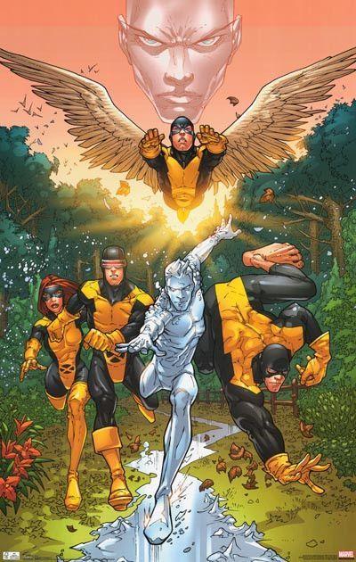 X Men First Class Marvel Comics Poster 22x34 Marvel Comics Art Comic Poster Comics