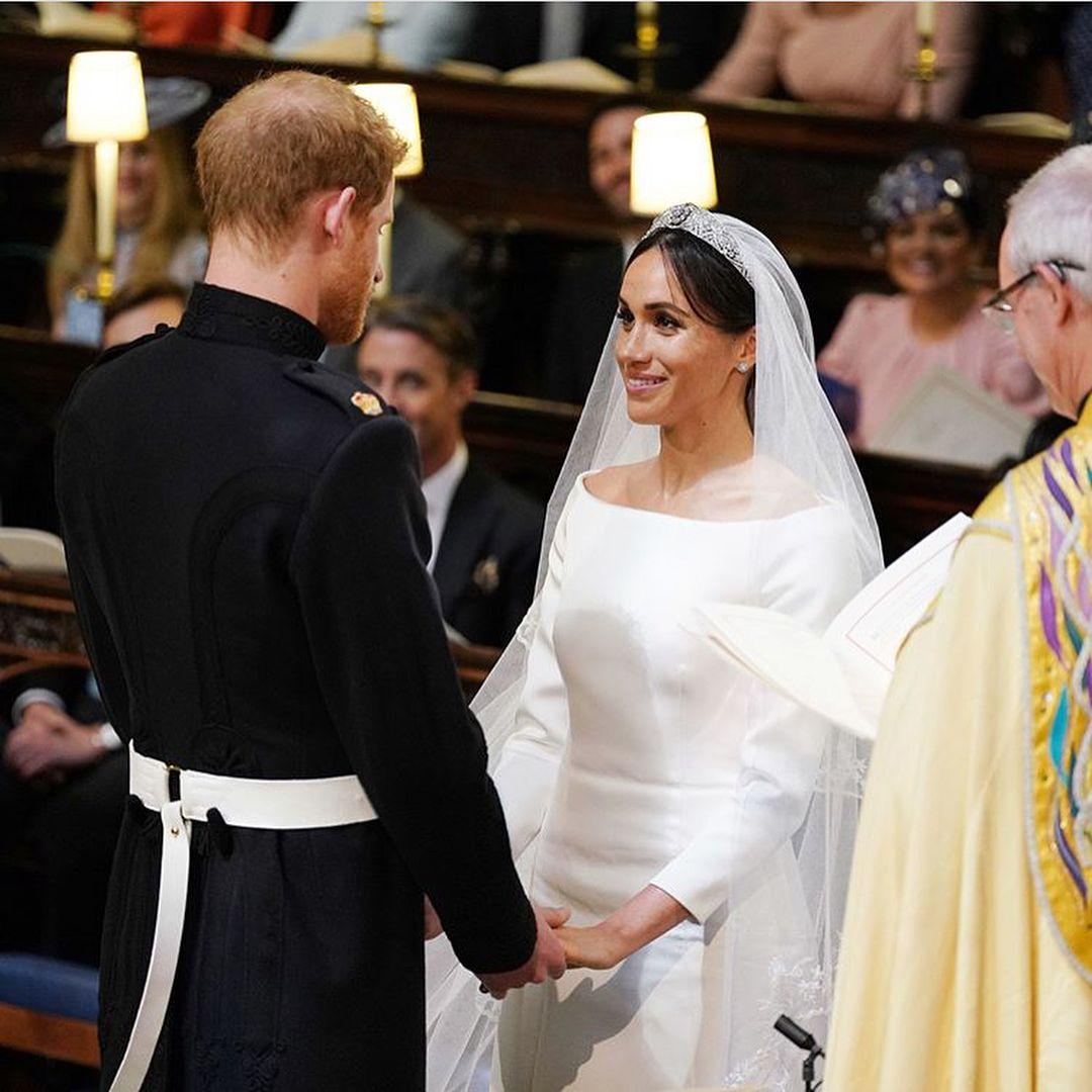 The Ceremony 👰🏽 #theroyalwedding #meghanmarkle