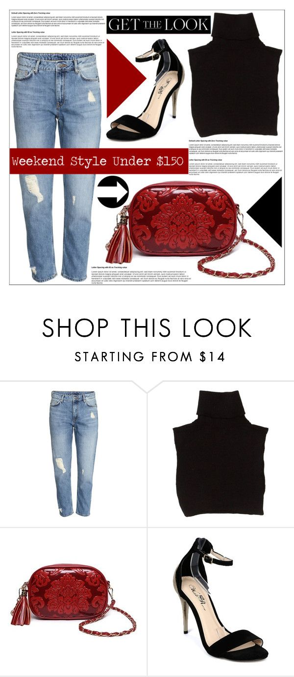 """Get the Look: Weekend Style Under $150"" by martso ❤ liked on Polyvore featuring Marc Jacobs and Wild Rose"