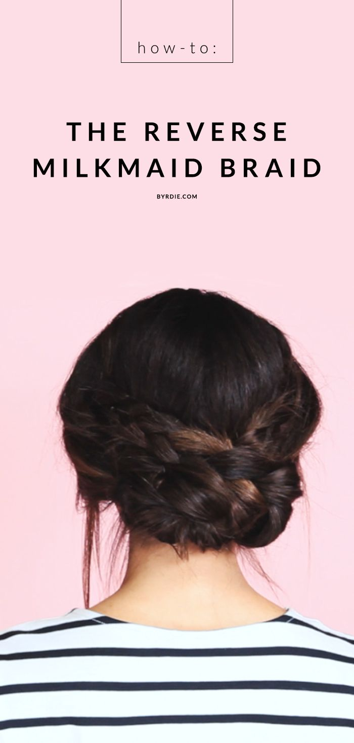 Video Tutorial: The Reverse Milkmaid Braid