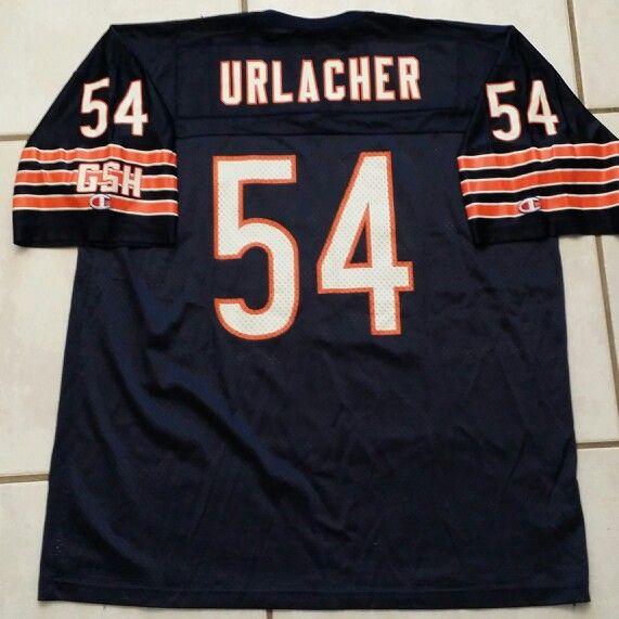 wholesale dealer 952b7 571ce Rare CHAMPION Chicago Bears GSH Brian Urlacher NFL Jersey ...