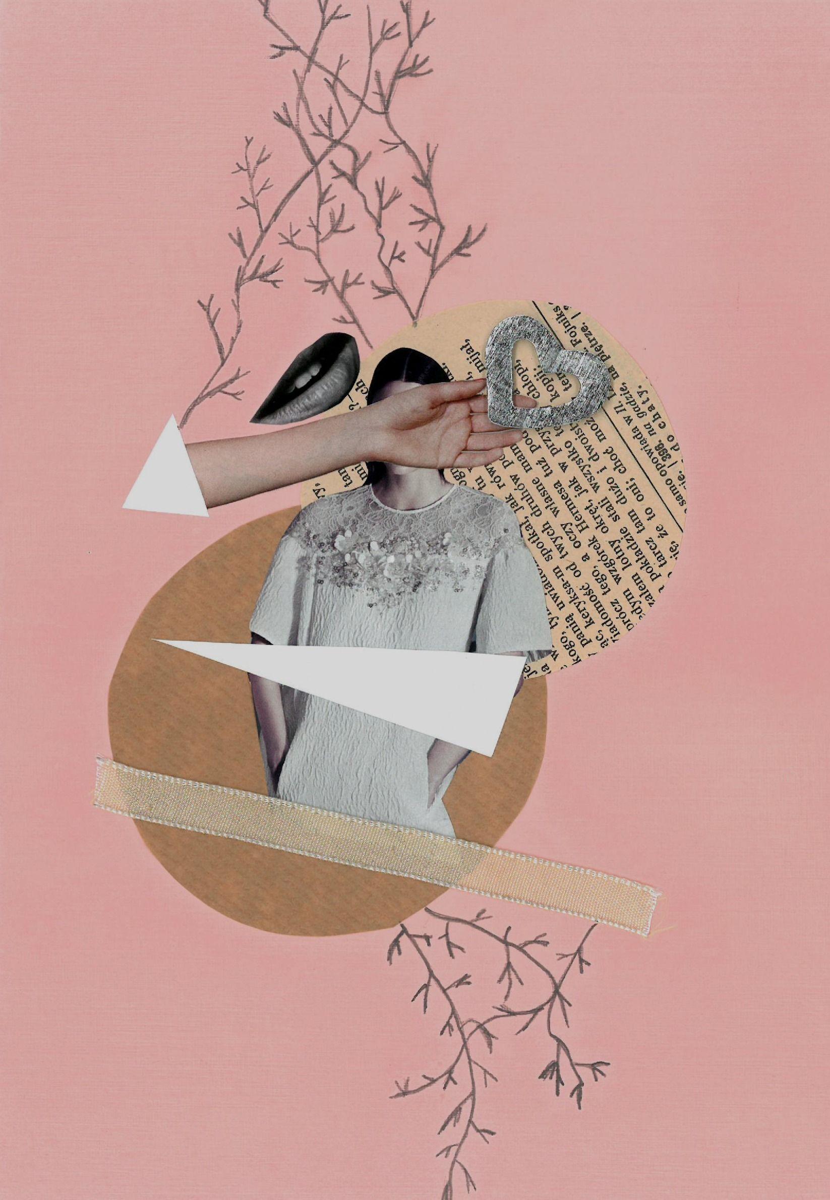 Collage Kolaz Art Sztuka Kolaz Sztuka Kolaze