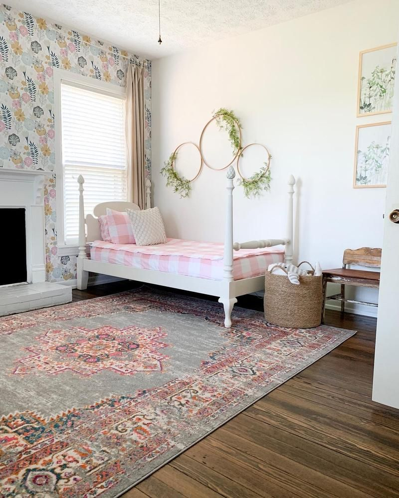 Perennial Blooms Peel and Stick Wallpaper in 2020 Shared