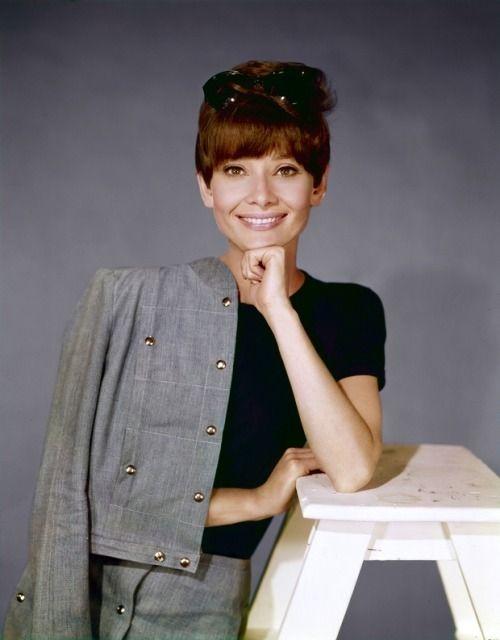 Audrey Hepburn in a publicity shot in 1967 by Bud Fraker.